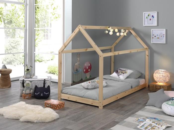 a467336aaca Παιδικό κρεβάτι σπιτάκι Cabane 200