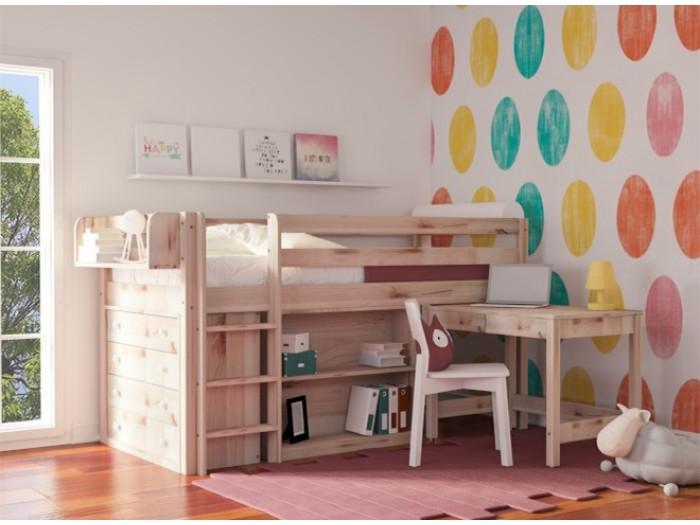 e7b9814c316 Παιδικό κρεβάτι υπερυψωμένο Prime Plus