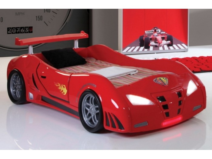 f1a3bfadc7e Παιδικό κρεβάτι αυτοκίνητο turbo V1 red